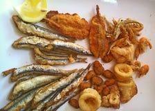 Fried Seafood Delicacy fotografia de stock
