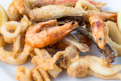Fried Seafood Royalty Free Stock Image