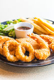 Fried Seafood Platter images stock