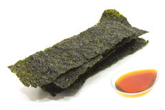 Fried Seaweed Stockfotografie