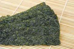 Fried seaweed. Royalty Free Stock Photos