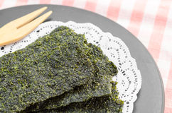 Fried seaweed. Stock Photography