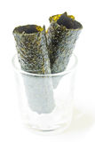Fried seaweed Royalty Free Stock Images