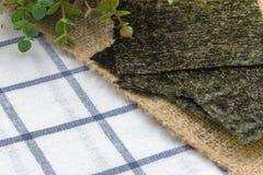 Fried seaweed Stock Photography