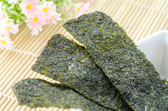 Fried seaweed. Stock Photography