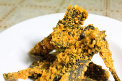 Fried seaweed Stock Images