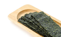 Fried seaweed. Royalty Free Stock Photo