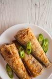 Fried shad Royalty Free Stock Image