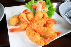 Fried Shrimp Stock Afbeeldingen