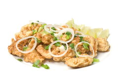 Fried Shrimp stock photography