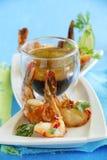 Fried shrimp Royalty Free Stock Image