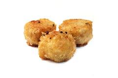 Fried shrimp balls Royalty Free Stock Image