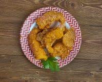 Fried Shrimp crioulo fotos de stock