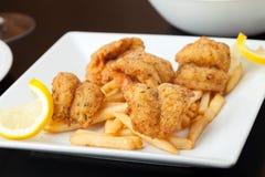 Fried Shrimp Dinner Stock Image