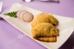 Fried shrimp dumpling Royalty Free Stock Photos