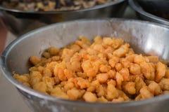 Fried Shrimp für das Kochen Stockfoto