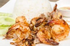 Fried shrimp Royalty Free Stock Photo
