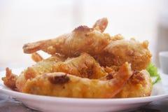 Fried shrimp tempura; Royalty Free Stock Photography