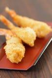 Fried shrimp tempura. Stock Images