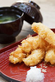 Fried shrimp tempura. Royalty Free Stock Photos