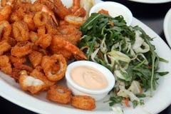 Fried Shrimps Royalty Free Stock Photo