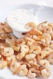 Fried shrimps Stock Photos