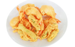 Fried shrimps Royalty Free Stock Photos