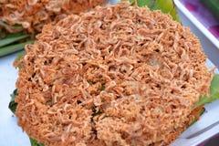 Fried Small shrimp Stock Photos