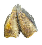 Fried Snakeskin gourami Royalty Free Stock Image