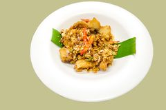 Fried snapper. Snapper topped with salt and chilli.It is a useful and healthy food Stock Photo