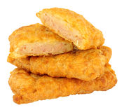 Fried Spam Fritters Royalty Free Stock Photos