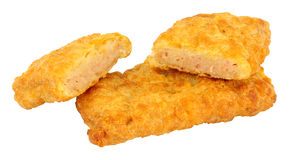 Fried Spam Fritters Royalty Free Stock Photo