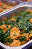 Fried Spicy Fish Cake profundo, alimento tailandês imagem de stock royalty free