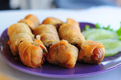 Fried spring roll Royalty Free Stock Image