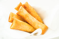 Fried spring roll Stock Image