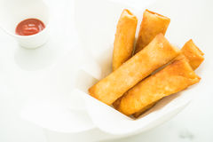 Fried spring roll Royalty Free Stock Photo
