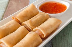 Fried spring roll Royalty Free Stock Images