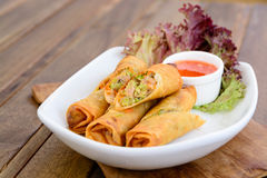 Fried spring roll Stock Photography