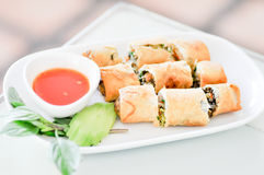 Fried Spring rolls Royalty Free Stock Photo