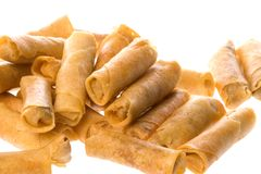 Fried Spring Rolls Isolated Royalty Free Stock Image