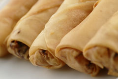 Fried spring rolls or popiah Royalty Free Stock Photography