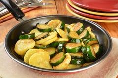 Fried squash Stock Image