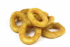 Fried squid ring Stock Image