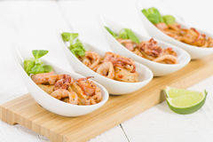 Fried Squid Rings Stock Images