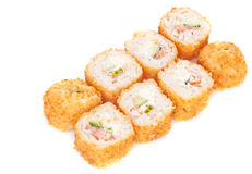 Fried Sushi Stock Photo