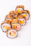 Fried sushi roll Stock Images