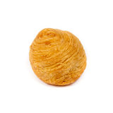 Fried Sweet Durian Puff Stock Image