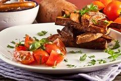 Fried sweet potato Stock Photography
