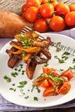 Fried sweet potato Royalty Free Stock Photos