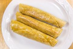 Fried Tacos friável Foto de Stock